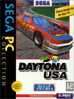 Jaquette de Daytona USA PC