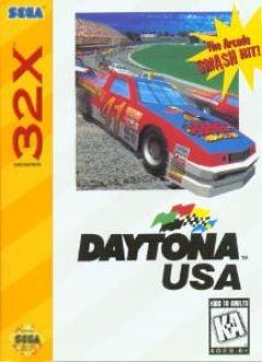 Jaquette de Daytona USA Megadrive 32X
