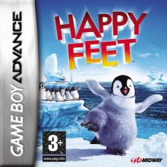 Jaquette de Happy Feet Game Boy Advance