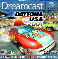 Jaquette de Daytona USA 2001 Dreamcast