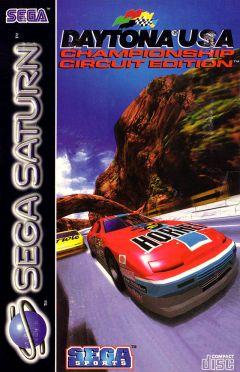 Jaquette de Daytona USA : Championship Circuit Edition Sega Saturn