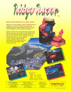 Jaquette de Ridge Racer Arcade