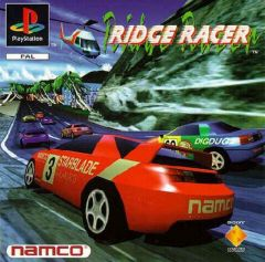 Jaquette de Ridge Racer PlayStation