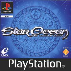Jaquette de Star Ocean : The Second Story PlayStation