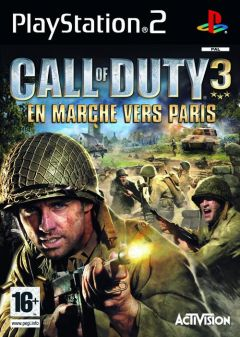 Jaquette de Call of Duty 3 : En marche vers Paris PlayStation 2