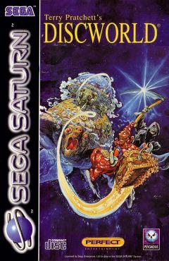 Jaquette de Discworld Sega Saturn