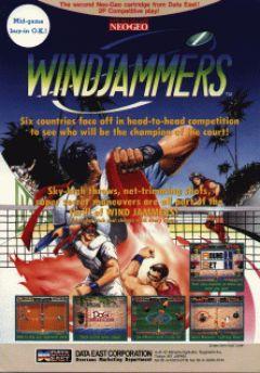 Jaquette de Windjammers (original) Arcade
