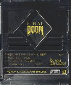 Jaquette de Final Doom PC