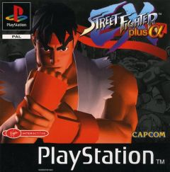 Jaquette de Street Fighter Ex Plus Alpha PlayStation