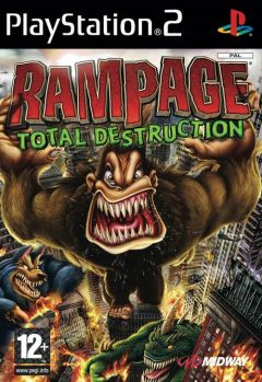 Jaquette de Rampage : Total Destruction PlayStation 2
