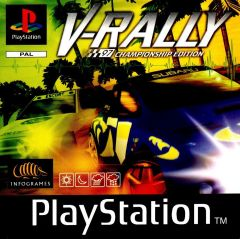 Jaquette de V-Rally PlayStation