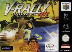 Jaquette de V-Rally Nintendo 64