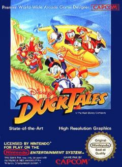 Jaquette de Duck Tales : La Bande à Picsou NES