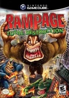 Jaquette de Rampage : Total Destruction GameCube