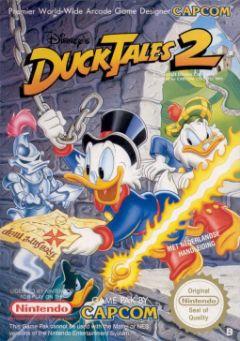 Jaquette de Duck Tales 2 : La Bande à Picsou NES