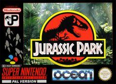 Jaquette de Jurassic Park Super NES