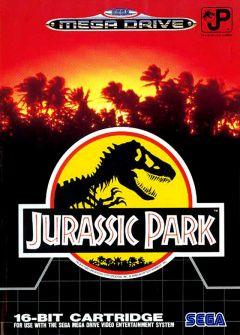 Jaquette de Jurassic Park Mega Drive