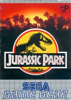 Jaquette de Jurassic Park GameGear