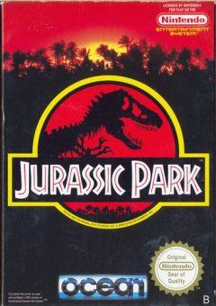 Jaquette de Jurassic Park NES