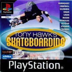 Jaquette de Tony Hawk's Skateboarding PlayStation