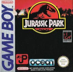 Jaquette de Jurassic Park Game Boy