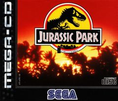 Jaquette de Jurassic Park MegaCD