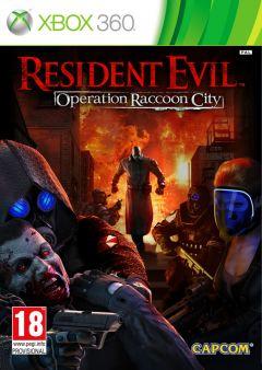 Jaquette de Resident Evil : Operation Raccoon City Xbox 360