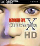 Jaquette de Resident Evil Code : Veronica X PlayStation 3