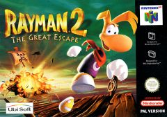 Jaquette de Rayman 2 : The Great Escape Nintendo 64