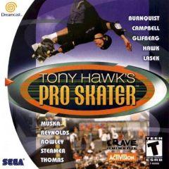 Jaquette de Tony Hawk's Skateboarding Dreamcast