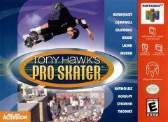 Jaquette de Tony Hawk's Skateboarding Nintendo 64