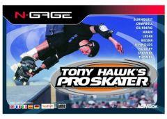 Jaquette de Tony Hawk's Skateboarding N-Gage