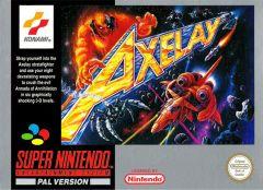 Jaquette de Axelay Super NES