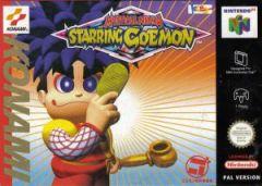 Jaquette de Mystical Ninja : Starring Goemon Nintendo 64