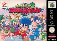 Jaquette de Mystical Ninja 2 : Starring Goemon Nintendo 64