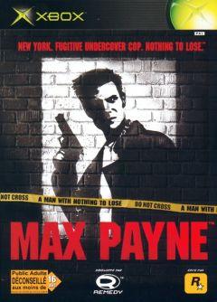 Jaquette de Max Payne Xbox