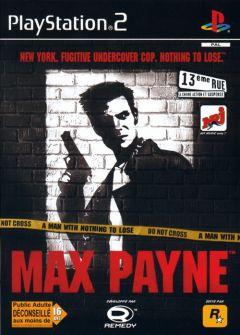 Jaquette de Max Payne PlayStation 2