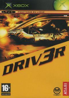 Jaquette de DRIV3R Xbox