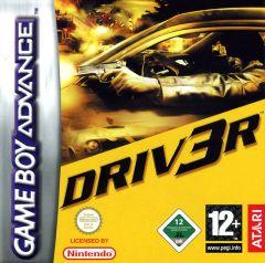 Jaquette de DRIV3R Game Boy Advance