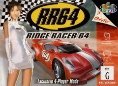 Jaquette de Ridge Racer 64 Nintendo 64