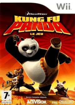 Jaquette de Kung Fu Panda Wii
