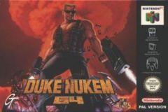 Jaquette de Duke Nukem 3D Nintendo 64