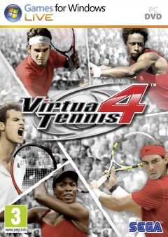 Jaquette de Virtua Tennis 4 PC