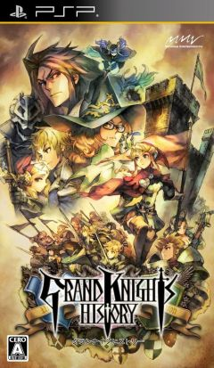 Jaquette de Grand Knights History PSP