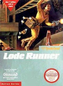 Jaquette de Lode Runner NES