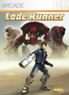Jaquette de Lode Runner Xbox 360