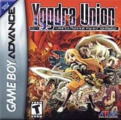 Jaquette de Yggdra Union : We'll Never Fight Alone Game Boy Advance