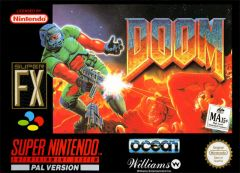 Jaquette de Doom (original) Super NES