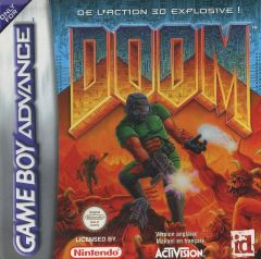 Jaquette de Doom (original) Game Boy Advance