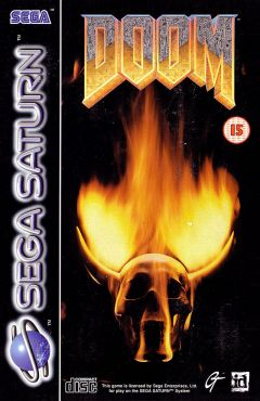 Jaquette de Doom (original) Sega Saturn